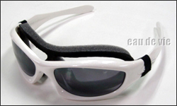 easy-to-attach goggle kit
